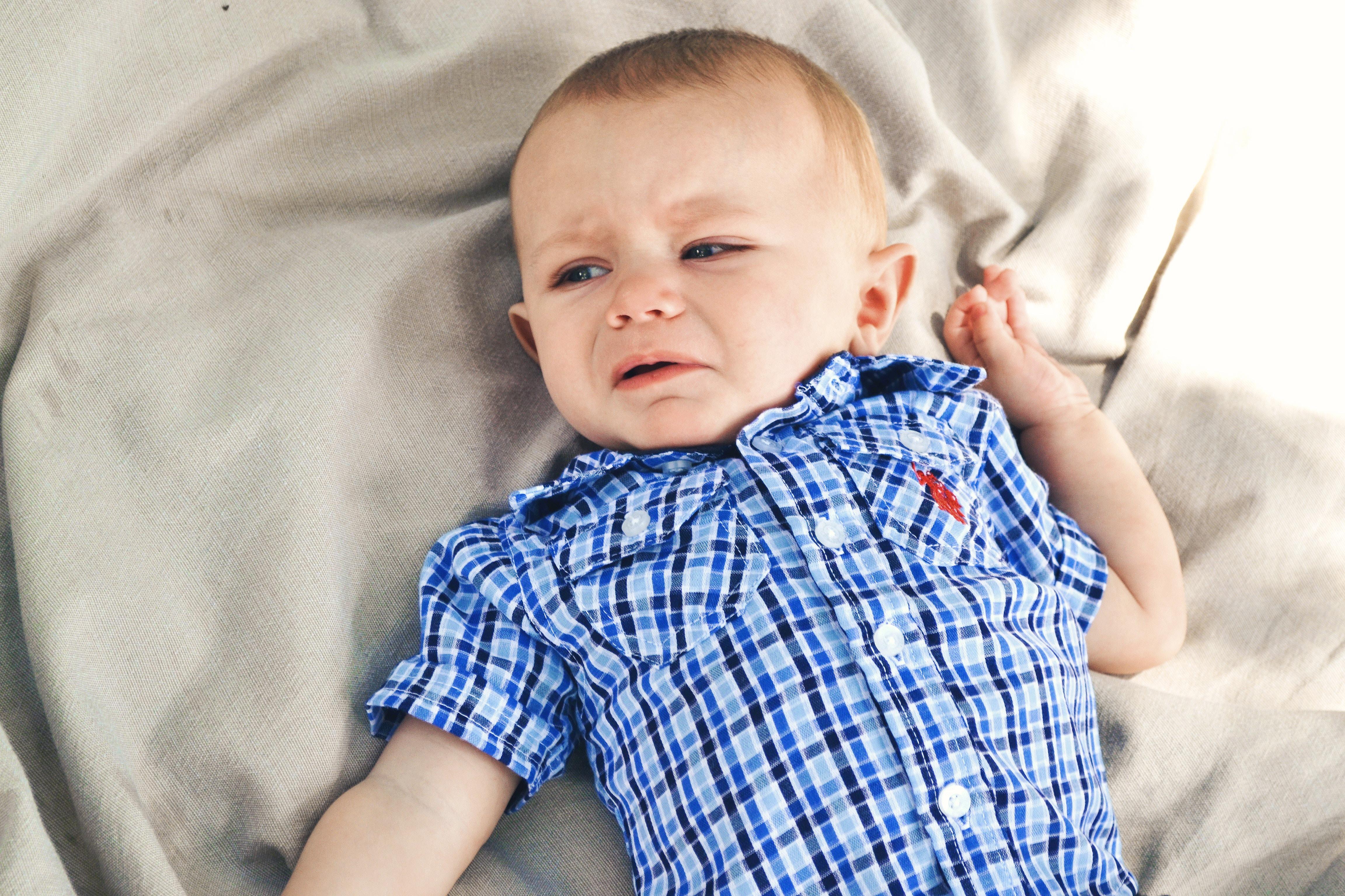 Die häufigsten Gründe warum Kinder weinen