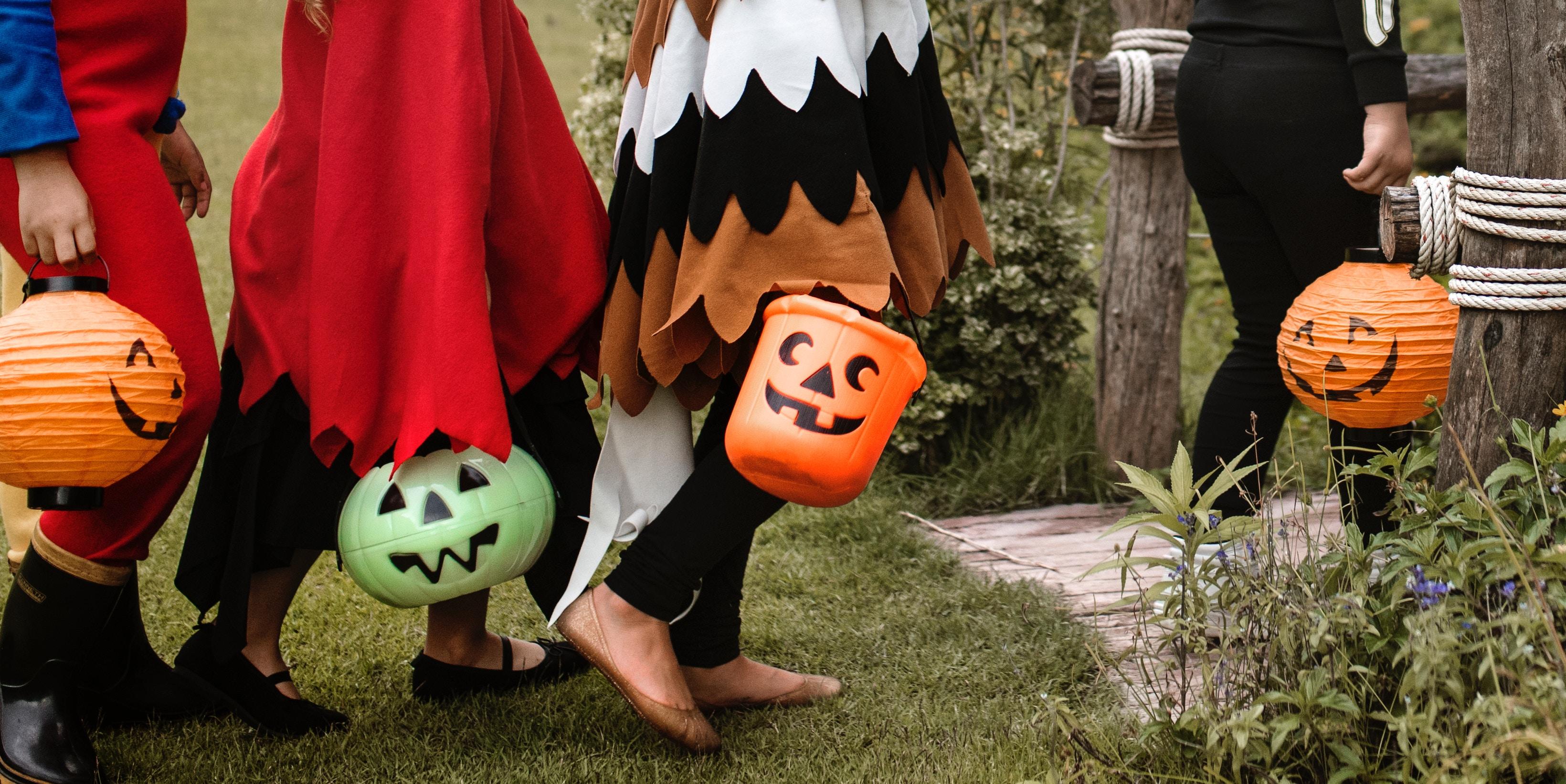 6 spannende Halloween Spielideen für Kleinkinder